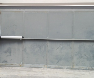 Automatización de puerta batiente residencial motor electromecánico largo Torrente