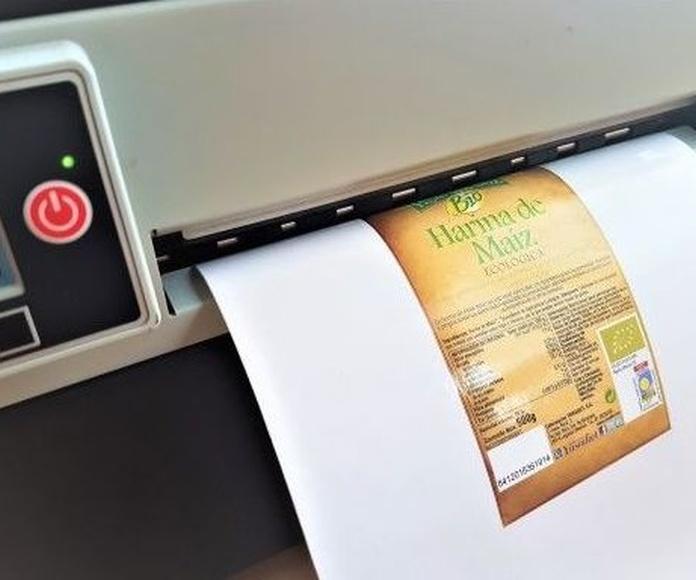 Etiquetas para impresoras INKJET: Productos de Etiquetas Romero Comprometidos