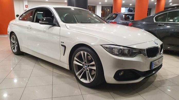 BMW 420D COUPE SPORT AUTOMATICO:  de CODIGOCAR