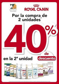 ROYAL CANIN, EN OFERTA