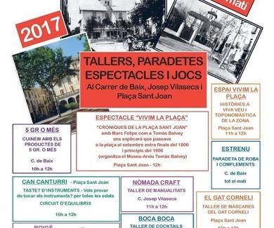 proyecta Vivim la plaça Sant Joan 2017