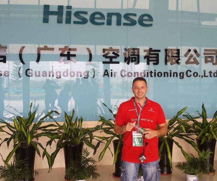 A China con Hisense