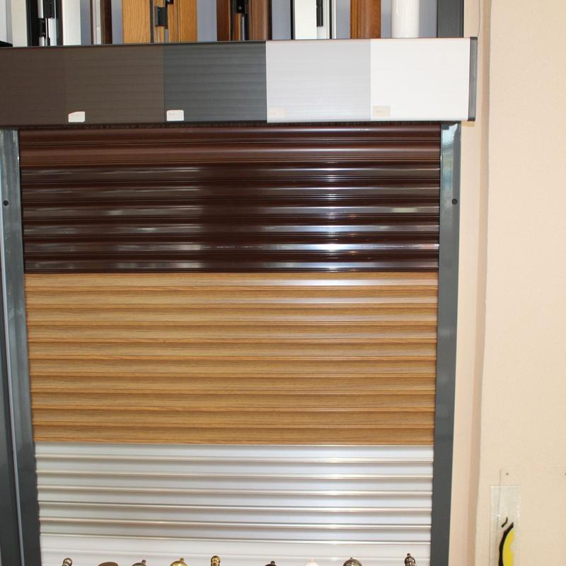 Nuestras persianas: Productos y servicios de Aluminios Tascón