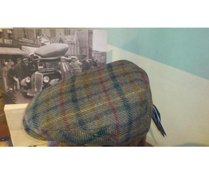 Gorra lana HarrisTweed: Catálogo de Sombrerería Citysport