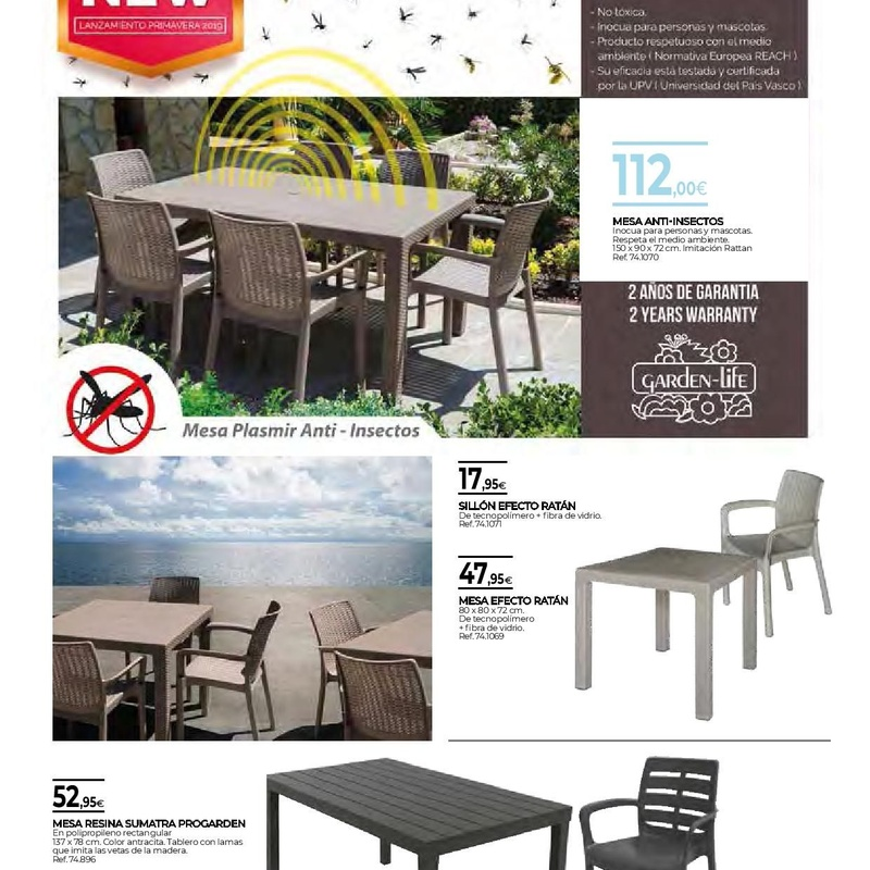 Muebles: FOLLETOS OFERTAS de Mor-Mat
