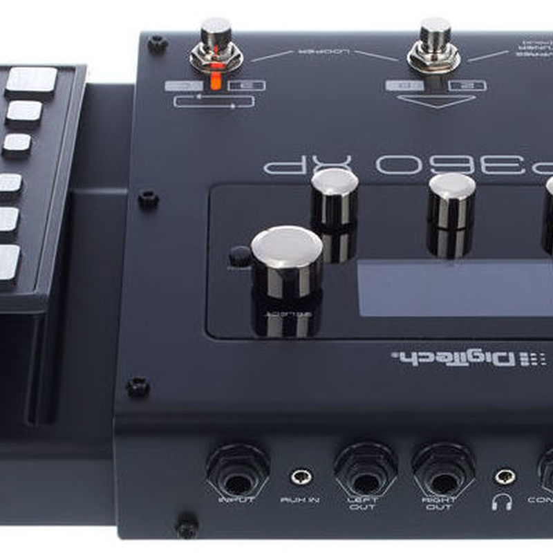Multiefectos guitarra eléctrica Digitech Rp 360 XP interface usb pedal expresión