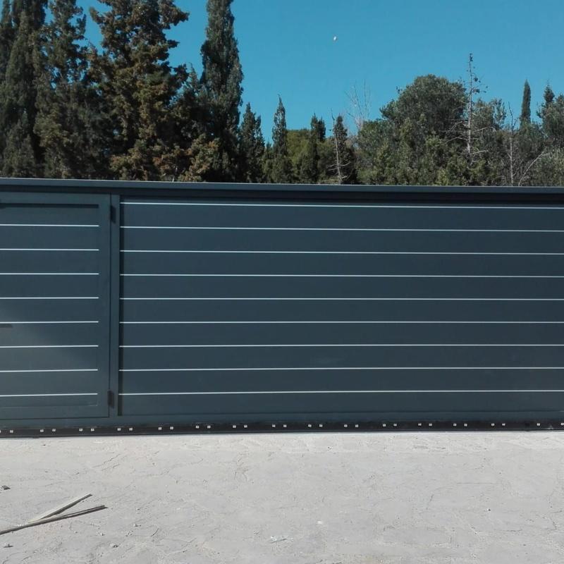 Corredera aluminio: PRODUCTOS de Monmatic Automatismos, S.L.