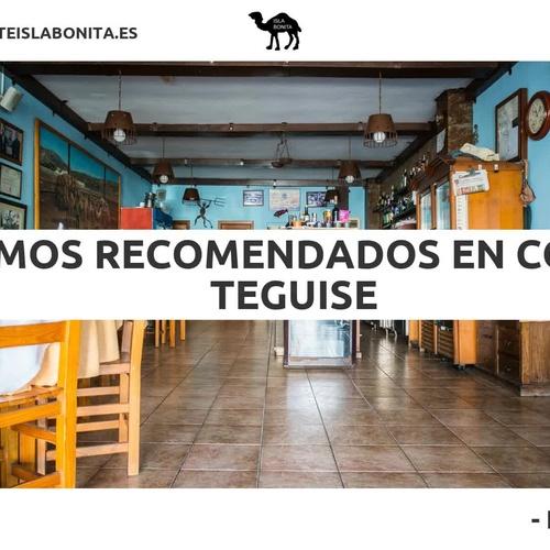 Cocina canaria en Teguise | Restaurante Isla Bonita