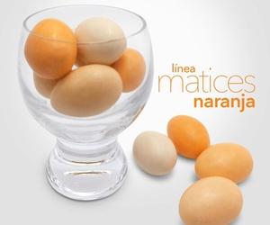 Bombones Línea Matices naranja