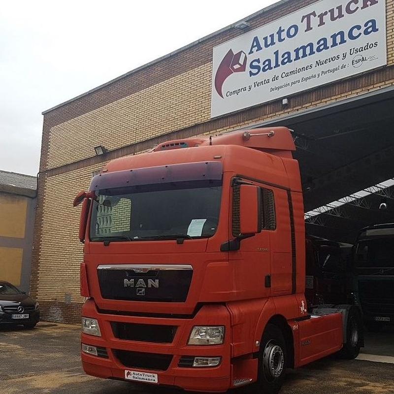 MAN TGX 440 XLX EURO4: Camiones of Autotruck Salamanca