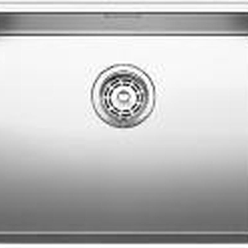 Fregaderos Blanco de acero inoxidable modelo Blanco Claron 500-U