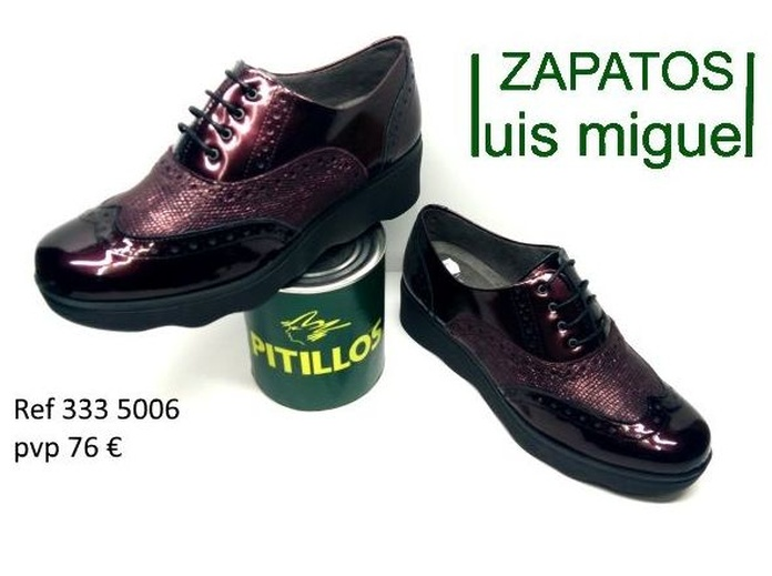 zapatos de cordon pitillos ( ref 333 5006): Catalogo de productos de Zapatos Luis Miguel