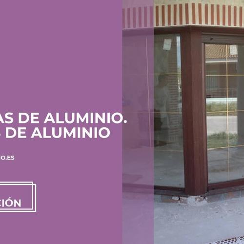 Contraventanas de aluminio en Cantalejo | Aluminios Álamo