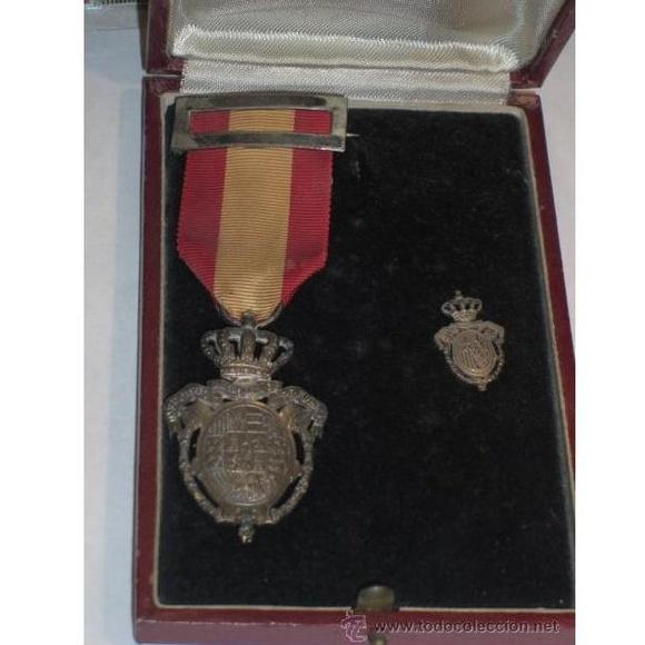 Medalla de la Previsión. Categoría plata: Catálogo de Antiga Compra-Venta