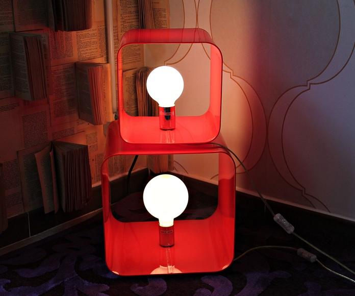 Cubos de luz POP: Artículos  de Ruzafa Vintage