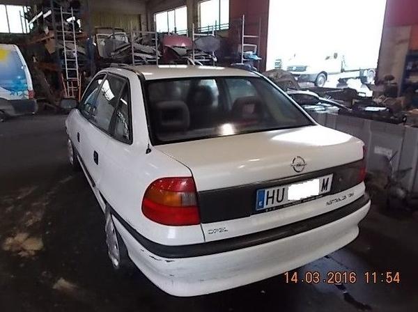 OPEL ASTRA 1.6 AÑO 1997: Catálogo de Desguace Valorización del Automóvil BCL, S.L.