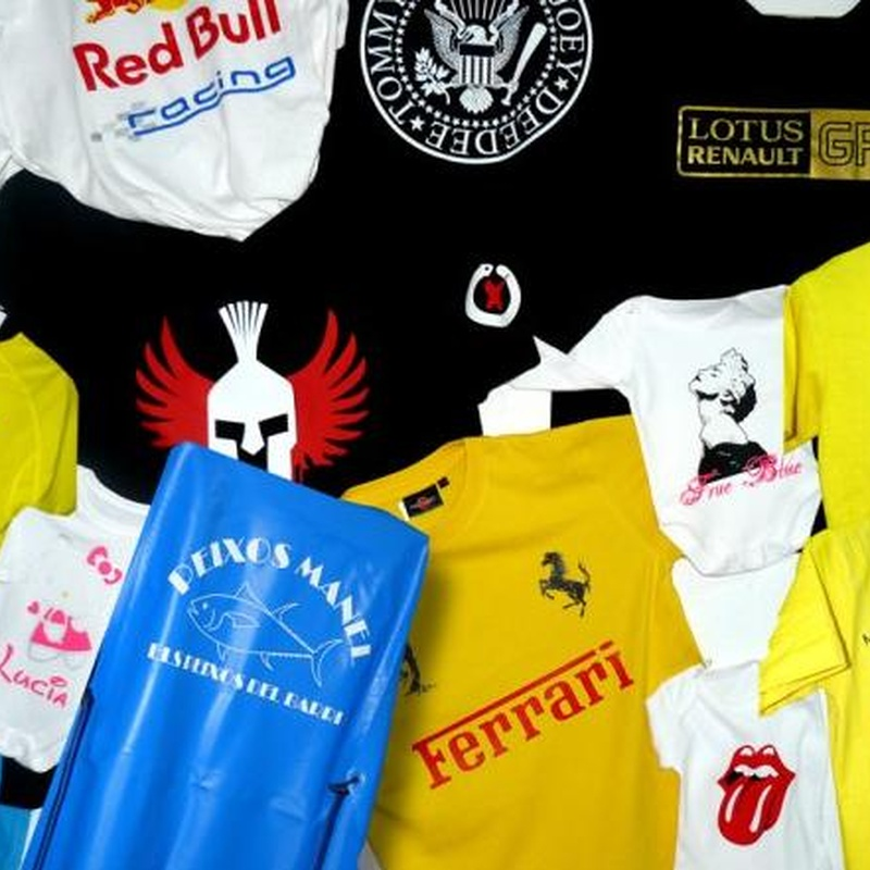 Camiseta básica: Catálogo de Copistería Copivan
