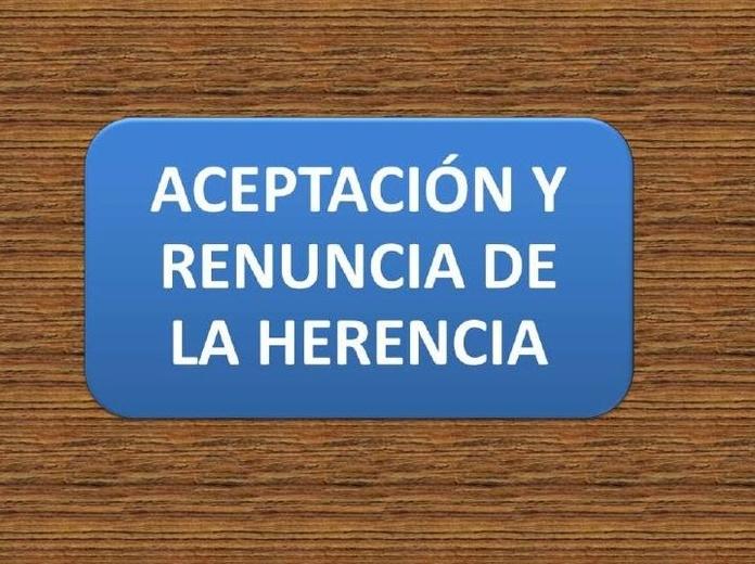 Renuncia de herencia: Servicios notariales  de Mª Gemma López-Brea Espiau