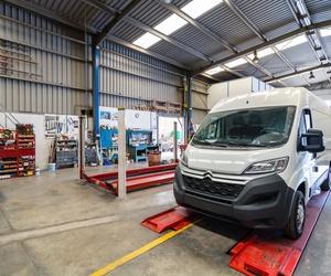 Sistema de refrigeración en vehículo industrial