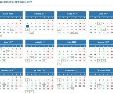 Calendario para presentar la declaración de la renta en 2017