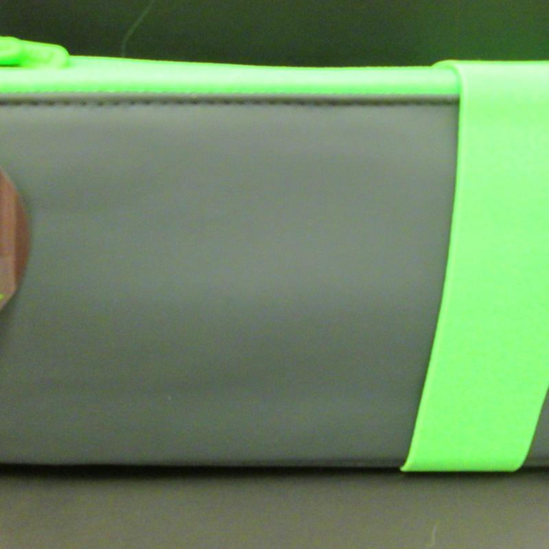Portatodos seis compartimentos TOUCH FLUO VERDE