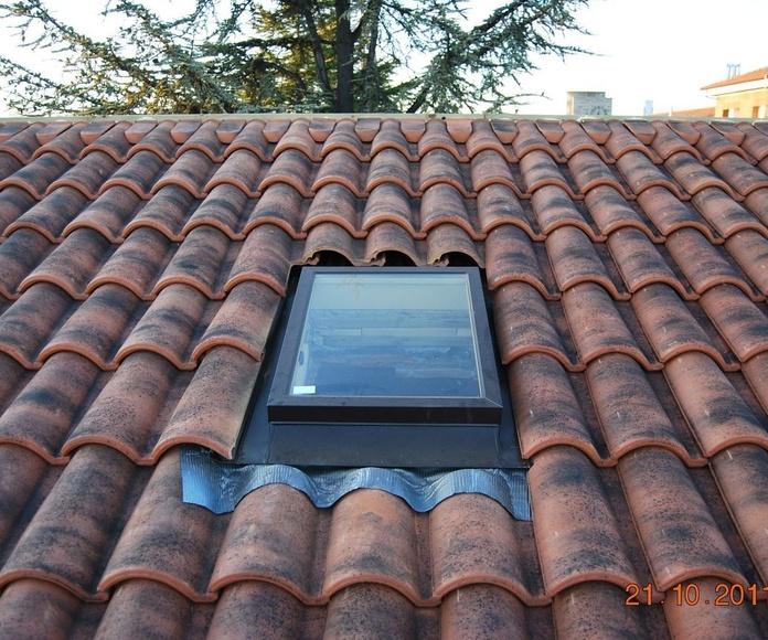 Reformas tejados León