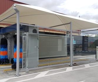 Carpas para parking comerciales: Servicios de Suministros Hispapress