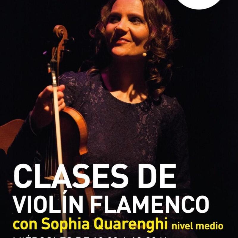 Clases de violín flamenco : Clases de Academia de Guitarra Flamenca José Ignacio Franco