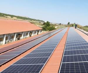 Eficiencia energética, Instalaciones fotovoltáicas Navarra en granja El Villar