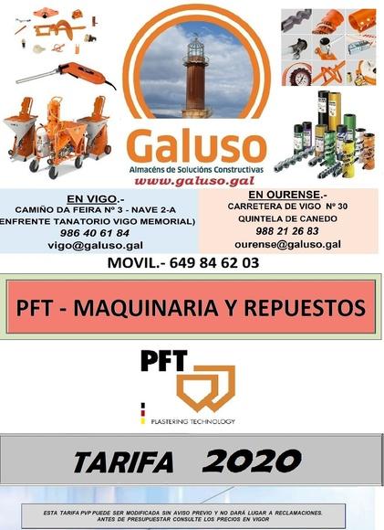 PFT: Catálogo de Galuso