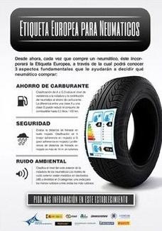 Prohibición de vender neumáticos poco eficientes