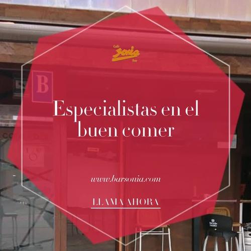 Comida para llevar enCisterniga | Bar Sonia