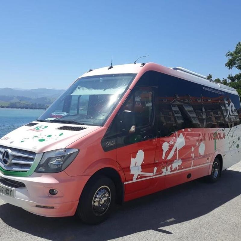 Bus 20 plazas: Servicios de J. M. Vigiola