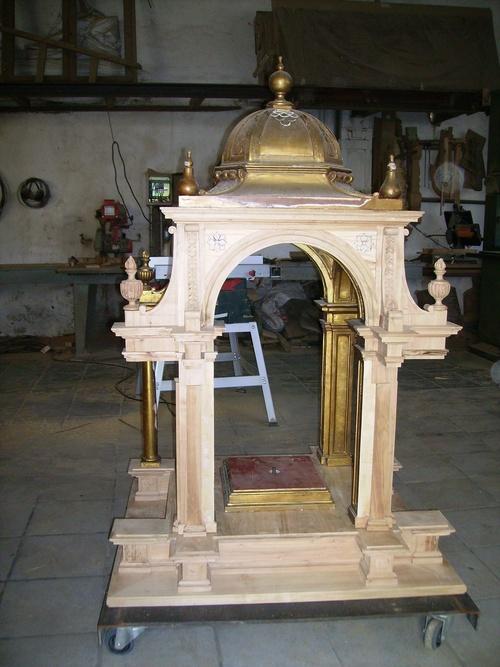 Restauración de la estructura de madera
