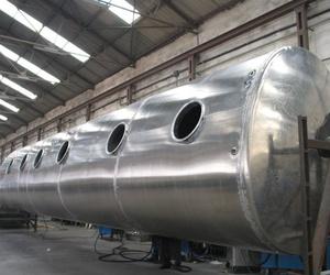 Construcción de depósitos de combustible en acero y aluminio