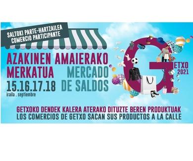 Mercado de Saldos en Getxo / 15-18 Septiembre