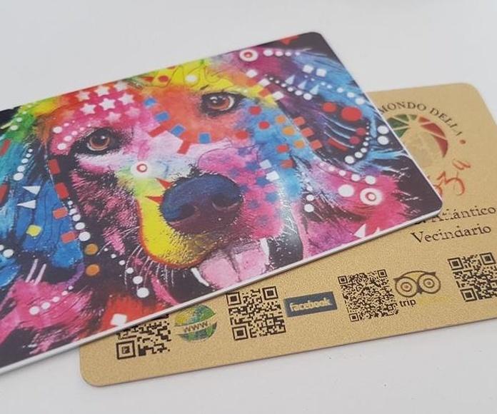 Tarjetas plásticas: Servicios de Our Dream