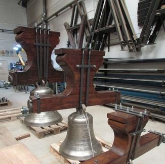 Campanas de iglesia - Restauración de campanas