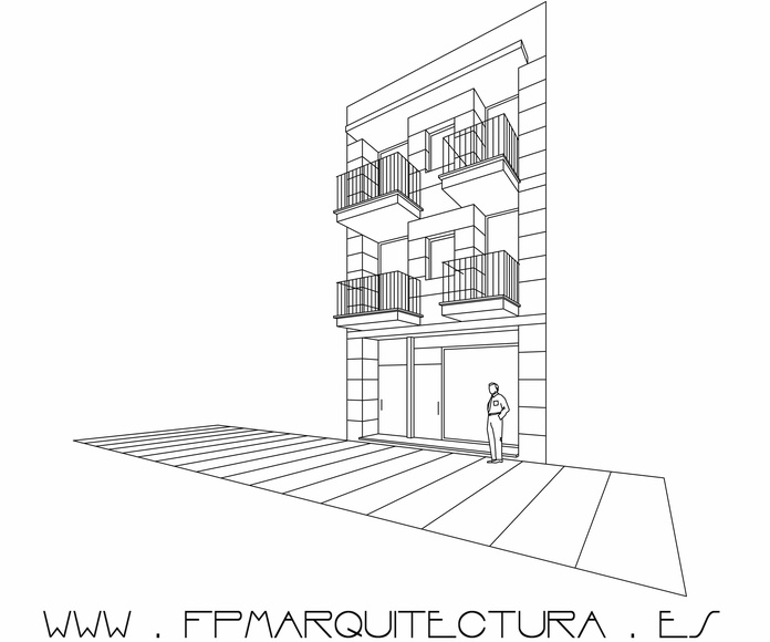 Project and Construction of Three Apartments in the Center Of Sitges: Proyectos  architectsitges.com de FPM Arquitectura
