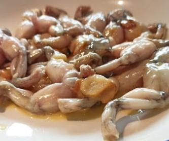 Tortillitas de camarones: Menú de Los Bartolos del Sur