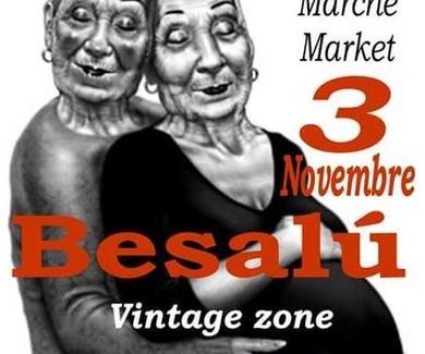 Besalú fira d'antiguetats diumenge 3 de novembre