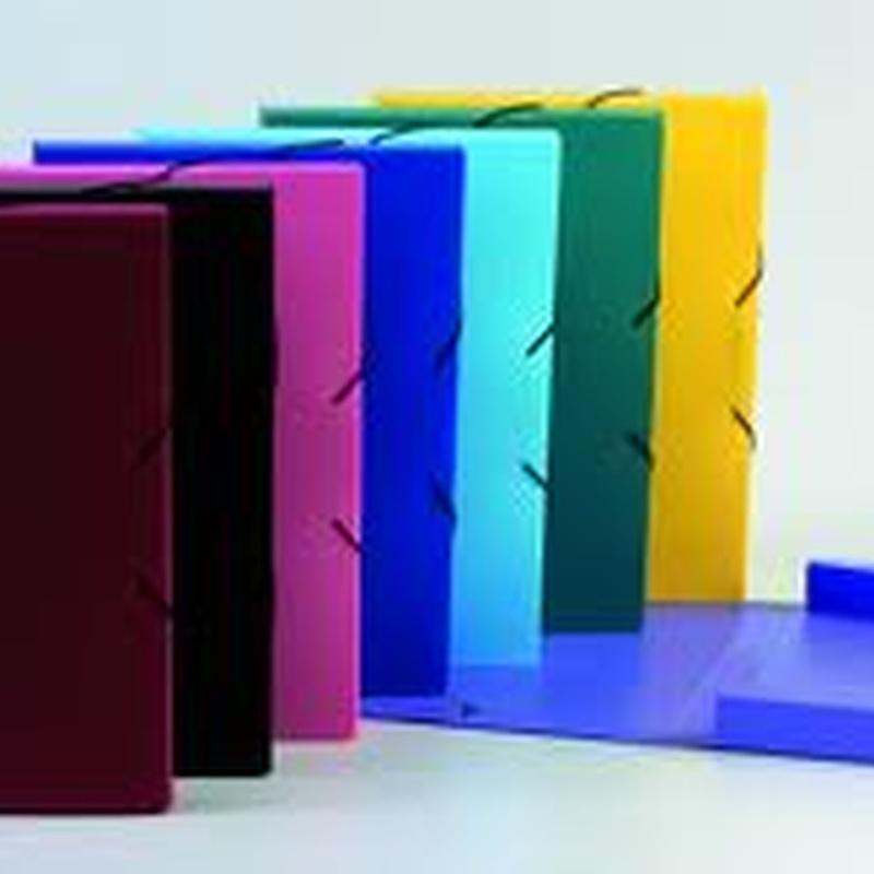 Carpetas de cartón forrado: Catálogo de productos de Exclusivas Goimar, S. L.