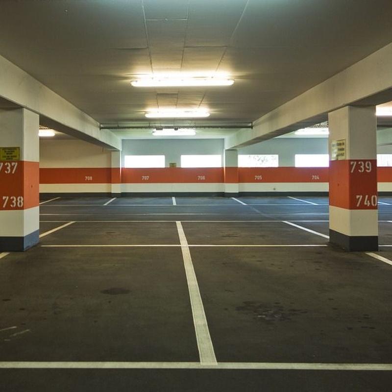 Reparación y protección de aparcamientos: Servicios de Sellados y Aplicaciones Intecnia S.L.