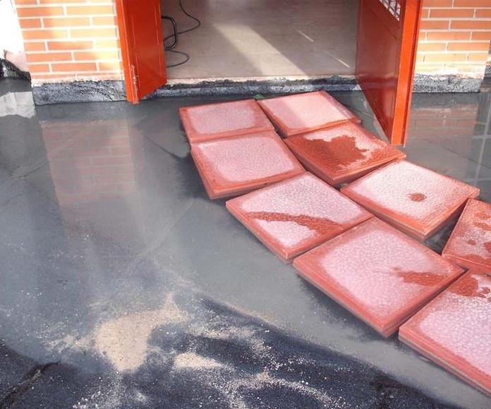 Reparación de humedades: Trabajos realizados  de Cubiertas Imperdur, S.L.