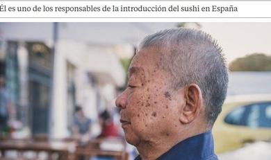 El japonés que cocinó para el emperador Hirohito y ahora prepara sushi en un bar de Málaga