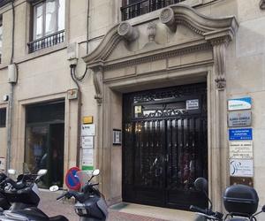Fachada del centro de quiromasaje en Zaragoza