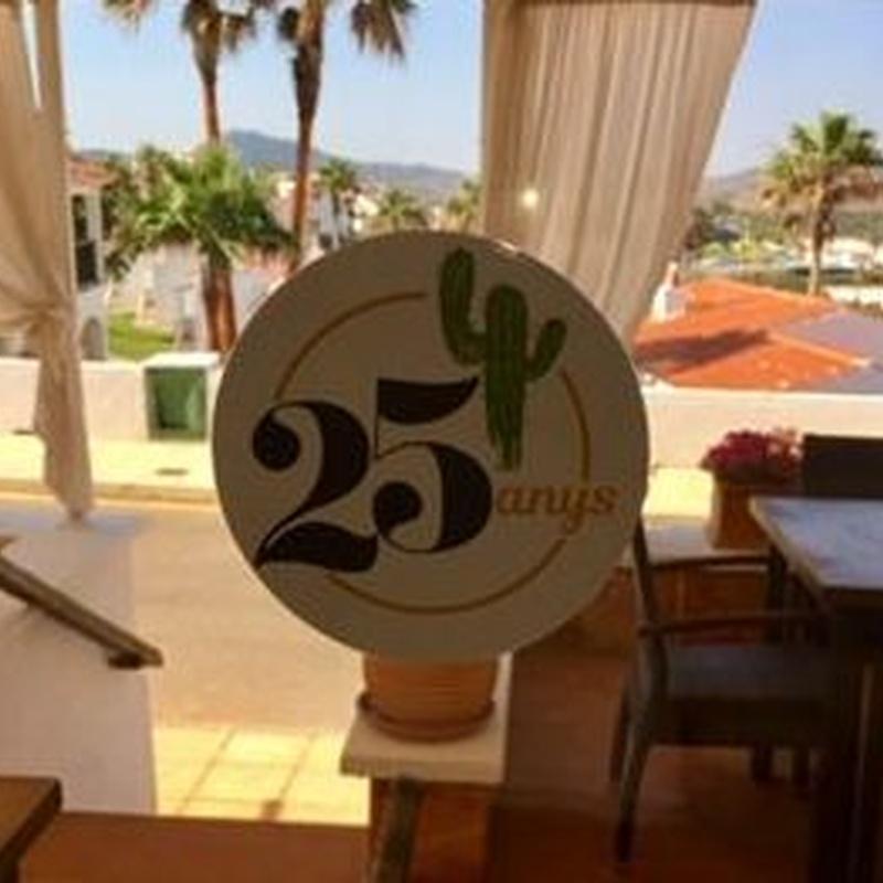 Menú: Carta de Restaurant Es Cactus