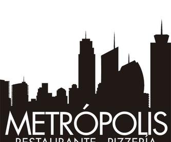 Bocadillos en pan de pizza: Carta de Restaurante Pizzería Metrópolis