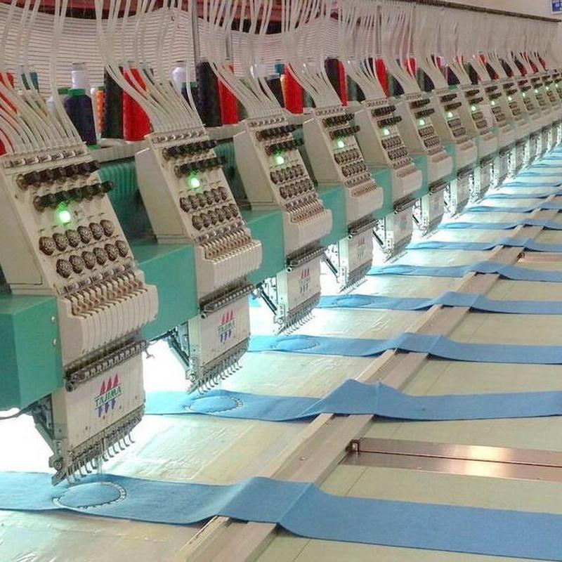 Máquinas : Catálogo de bordados de Bordados Tecnibor, S.L.