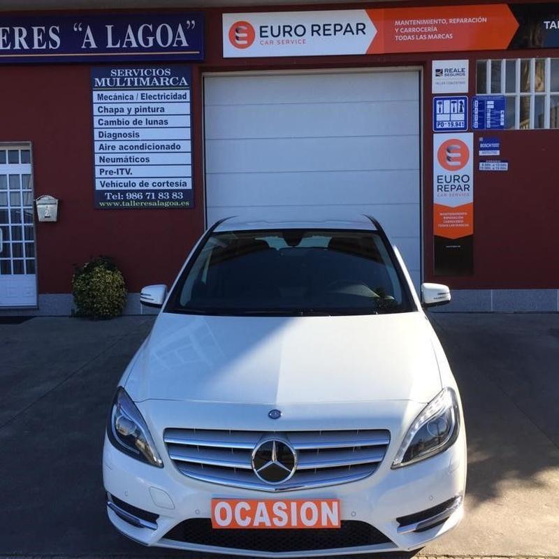 Mercedes Clase B200CDI:  de Ocasión A Lagoa